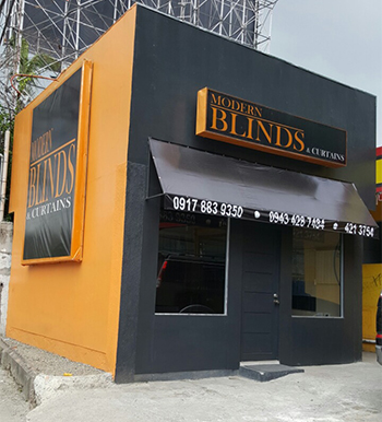 modern blinds and curtains cebu showroom